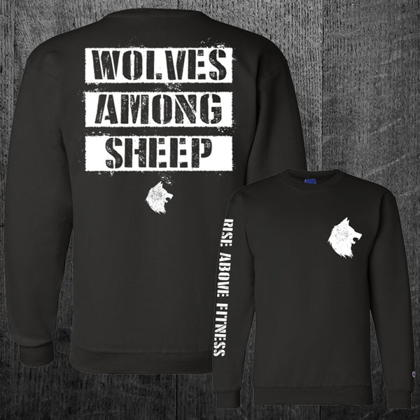 """WOLF PACK"" Champion Crewneck Sweatshirt"