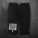"""WOLF PACK"" Champion Mesh Shorts"