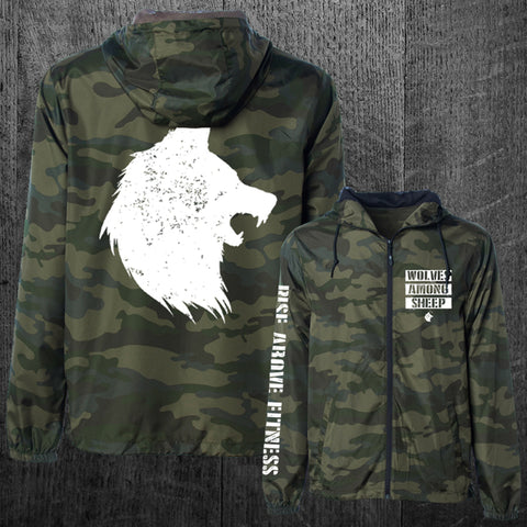 """WOLF PACK"" Windbreaker Jacket"