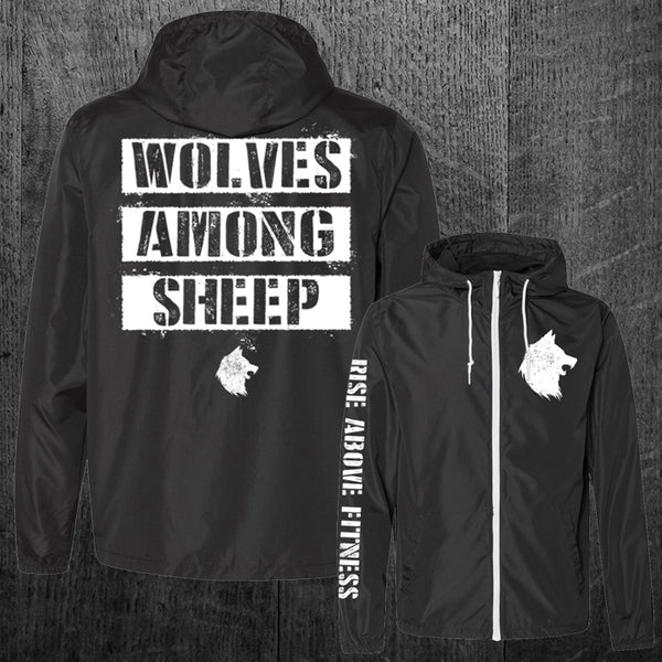 """WOLVES AMONG SHEEP"" Windbreaker Jacket"