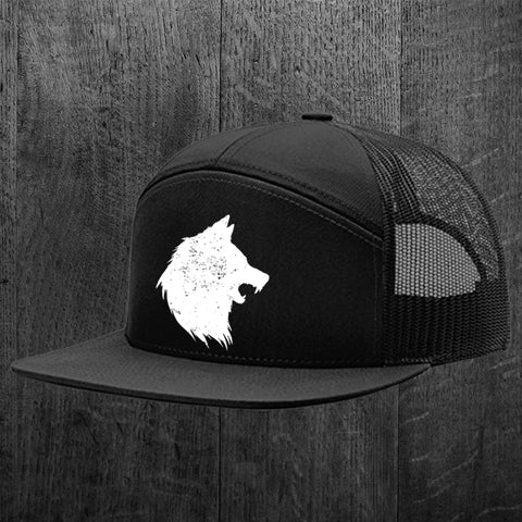 """WOLVES AMONG SHEEP"" 7 Panel Snapback"