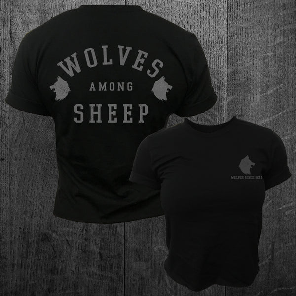 """WOLVES SINCE 2011"" Women's Crop Tee"
