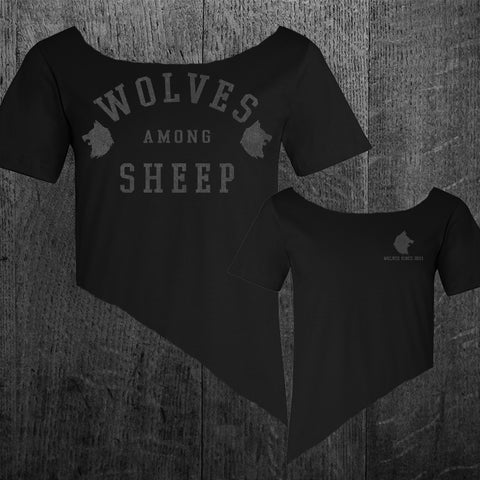 """WOLVES SINCE 2011"" Women's Custom Cut Scoop Neck Tee"