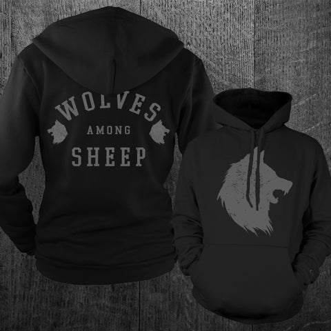 """WOLVES"" Pullover Hoodie"