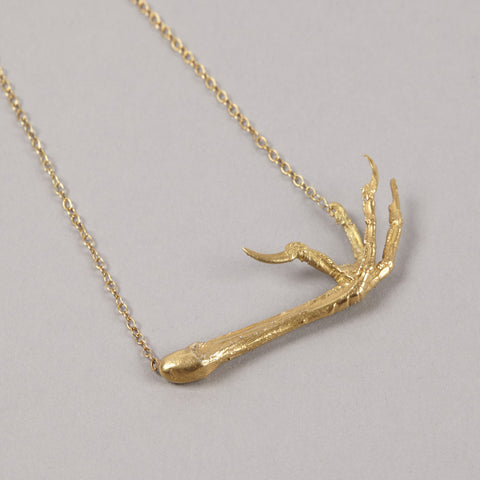 Gold Song Thrush Necklace
