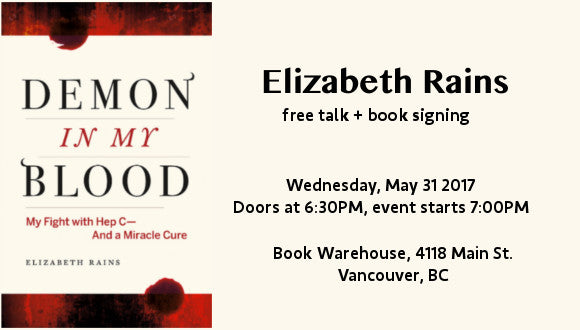 Elizabeth Rains at Main Street Book Warehouse