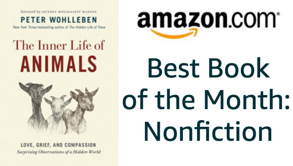INNER LIFE is an Amazon Book of the Month