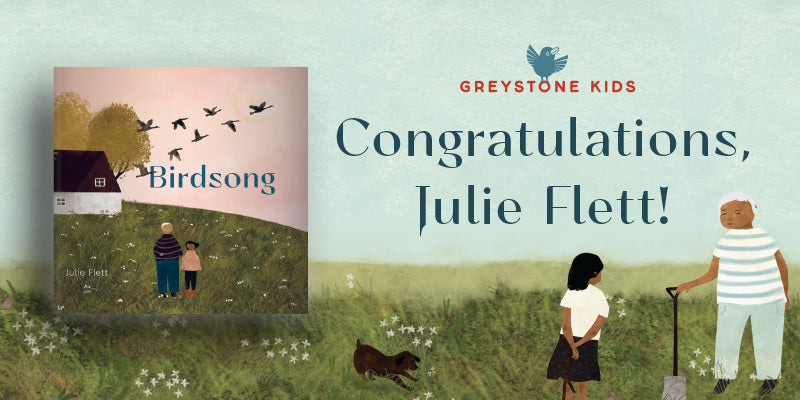 Birdsong wins TD Canadian Children's Award