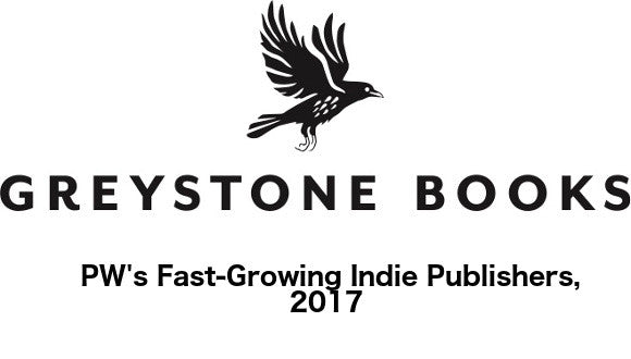 Greystone Books a 2017 'Fast Growing Indie'