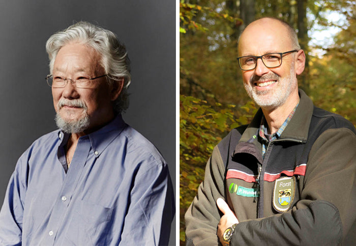 LIVE in Victoria: David Suzuki & Peter Wohlleben