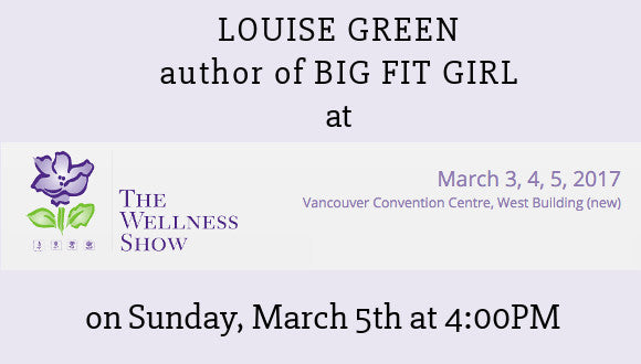 Louise Green at The Wellness Show, March 5th