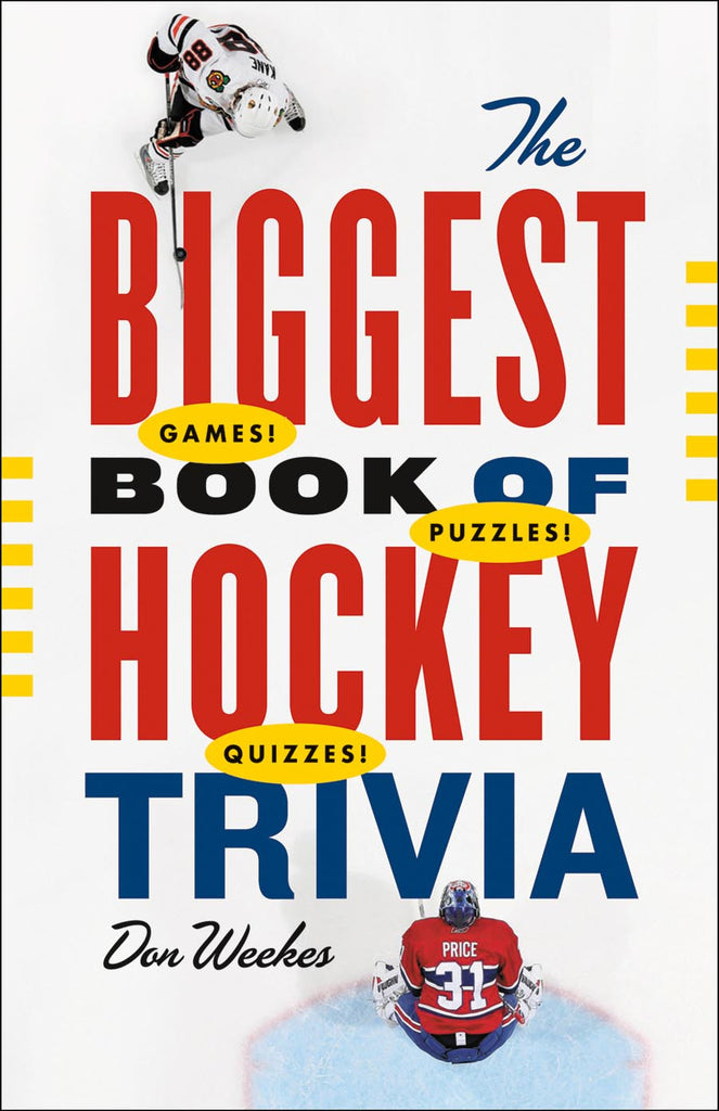 The Biggest Book of Hockey Trivia
