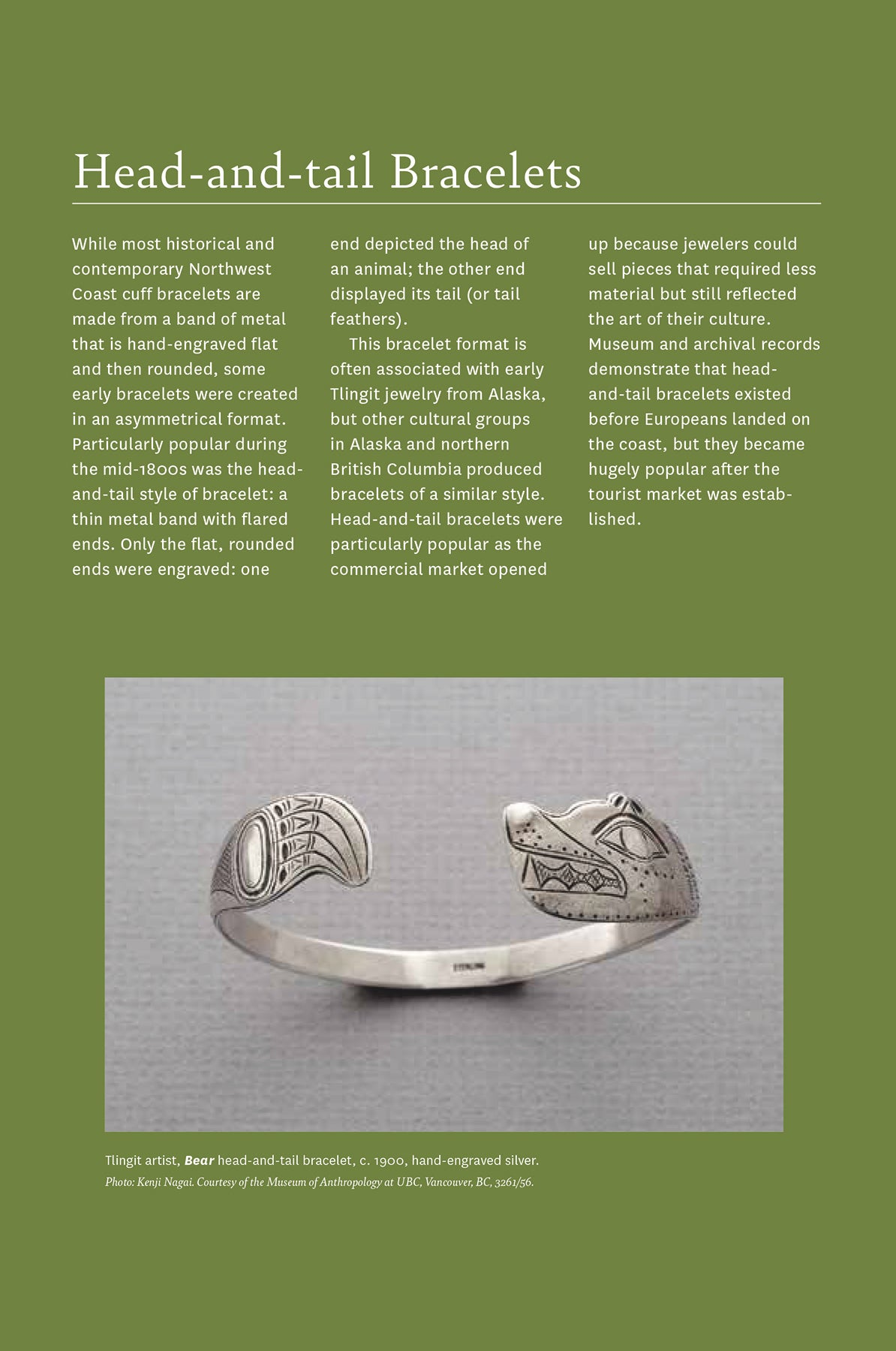 Understanding Northwest Coast Indigenous Jewelry
