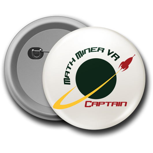 Captain pin button