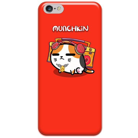 Munchkin phone-case by Fancy Cats (3 colors available)