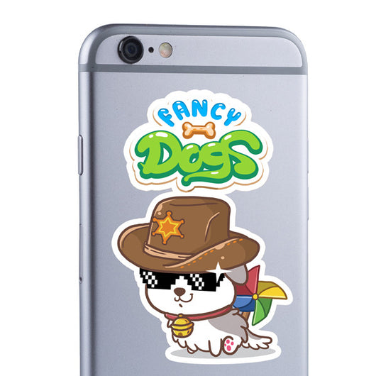 Sheriff decal by Fancy Dogs