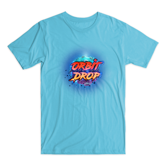 Orbit Drop t-shirt blue