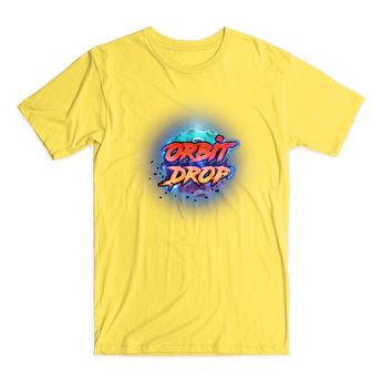 Orbit Drop t-shirt yellow