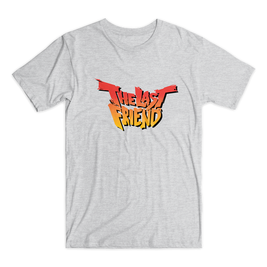 The Last Friend t-shirt light gray