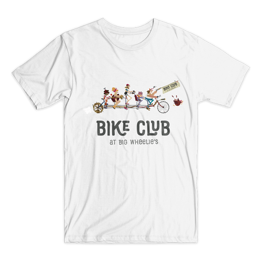 Bike Club t-shirt (7 colors available)