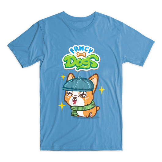 Artist t-shirt by Fancy Dogs (7 colors available)