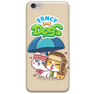 Side by Side phone-case by Fancy Dogs (7 colors available)