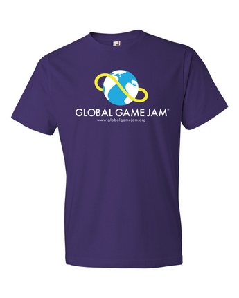 OFFICIAL GLOBAL GAME JAM SHIRT