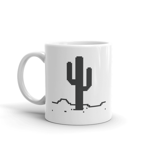 4. Nightly T-Rex mug