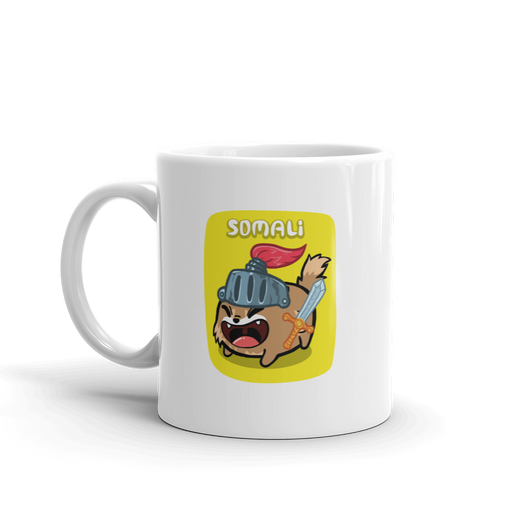 Somali mug by Fancy Cats