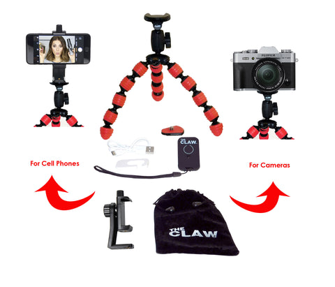 The CLAW® Large Travel Tripod
