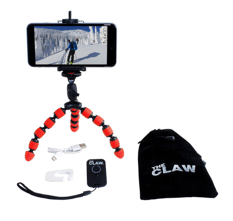 The CLAW® Mini Flexible Travel Tripod