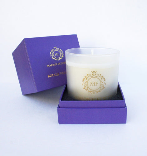 maison-fleurette-seasonal-beeswax-candle-flower-essences-aromatherapy-royalpurple-gold-frosted-glass