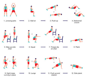 Great 7 Minute Workout!