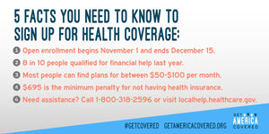 Open Enrollment Starts November 1st!
