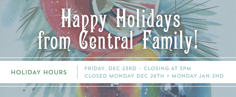 Holiday Hours from CFP