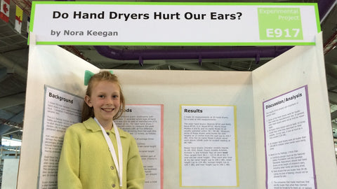 13-Year-Old Scientist's Research Shows Hand Dryers Can Hurt Kids' Ears