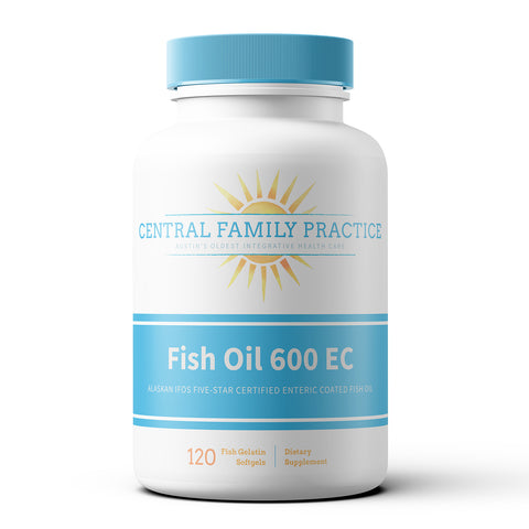 Fish Oil 600 EC - 120ct