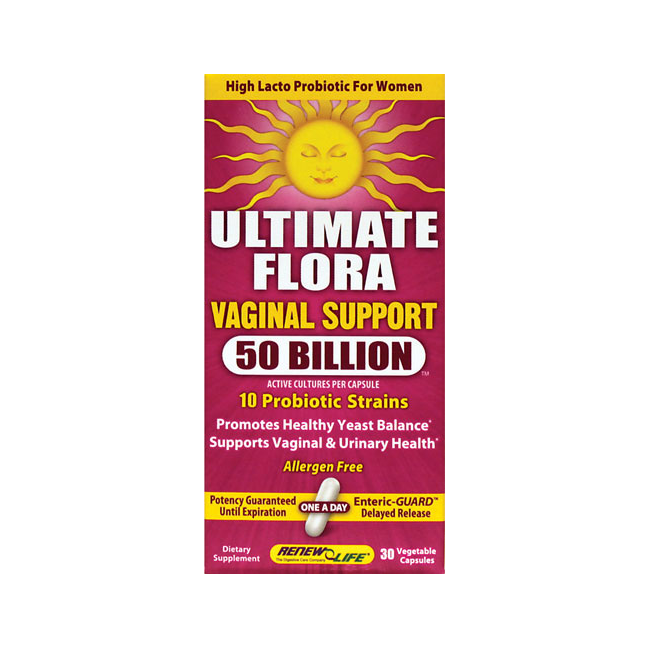 Ultimate Flora Vaginal Support 30ct