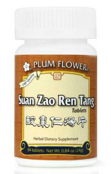 Suan Zao Ren Tang Tablets (Plum Flower brand) 84ct
