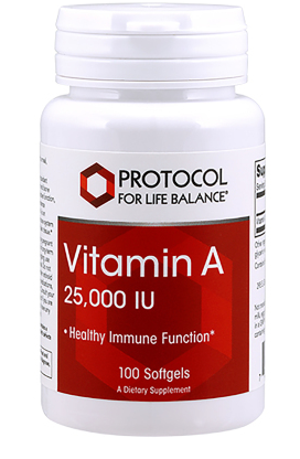 Vitamin A 25,000IU 100ct