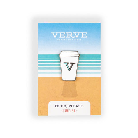 Verve To Go, Please Enamel Pin