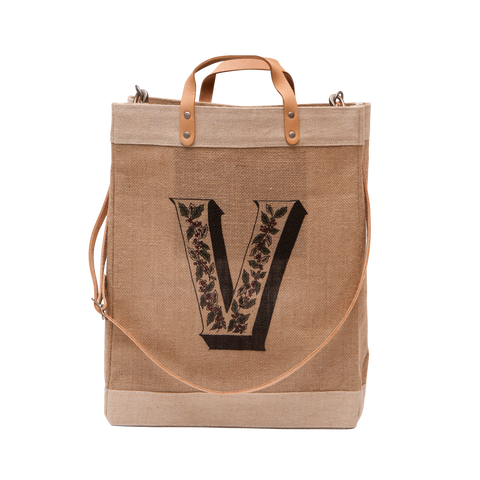 3rd Anniversary Customize Detachable Handle Market Bag