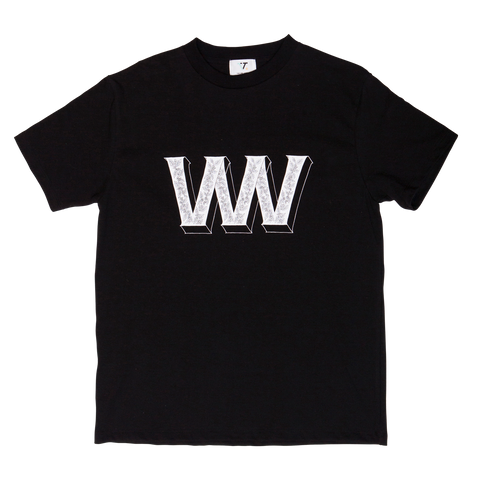 Coffee Cherry Tee - Black
