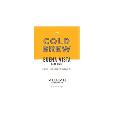 Cold Brew - Buena Vista Dark Roast