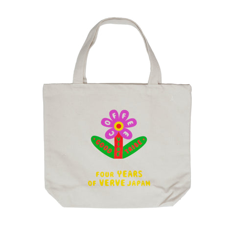 ORGANIC CANVAS TOTE BAG - GOOD VIBE TRIBE