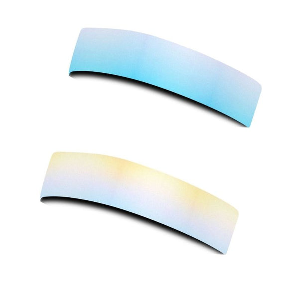 RAVEbandz CHAMP No Slip Headband - Sand & Sea Ombre (Reversible)