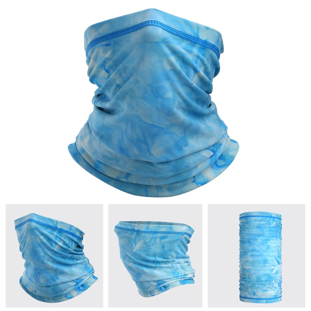 The LEGEND - Neck Gaiter (Light Blue Tie Dye)