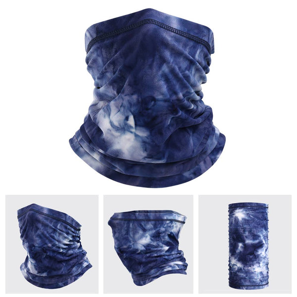 The LEGEND - Neck Gaiter (Royal Blue Tie Dye)