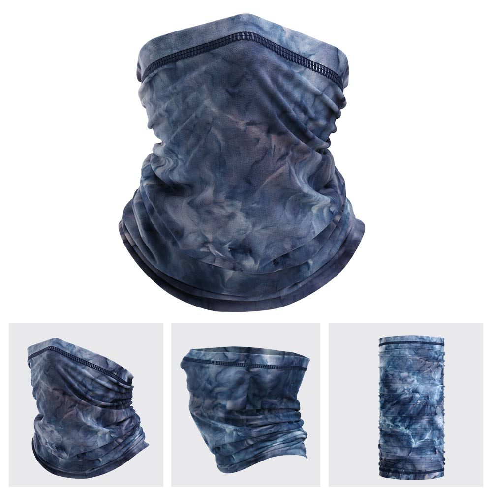 The LEGEND - Neck Gaiter (Navy Blue Tie Dye)