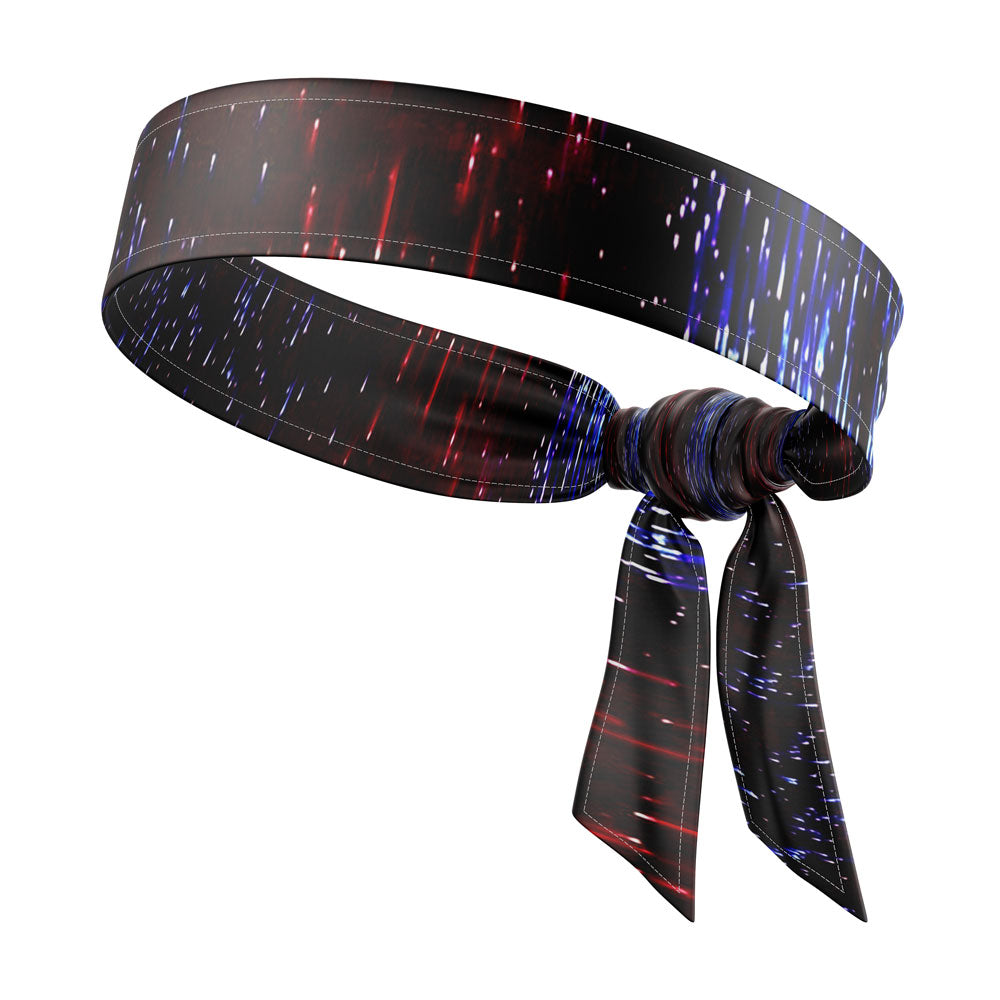 RAVEbandz The All Star Tie Back Headbands (Light Show)